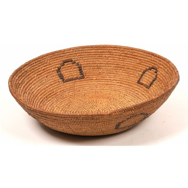 Southern California Mission Tribes Coiled Basket  [140391]