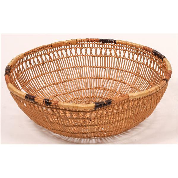 Hupa/Yurok Winnowing Basket  [140392]