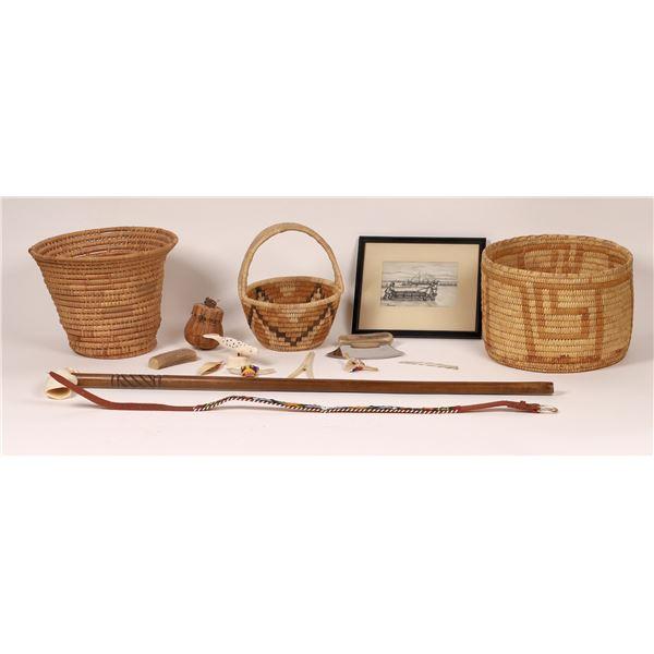 Native Americana incl. Baskets  [139684]