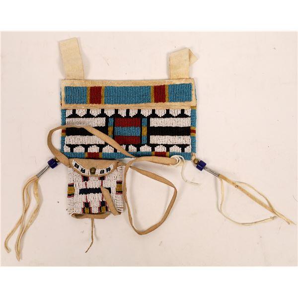 Beaded Bag pair  [141126]