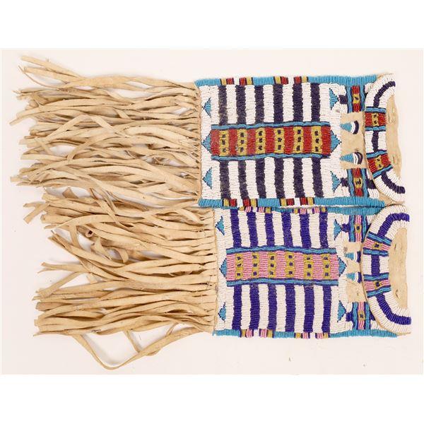 Medicine/Tobacco Bag Pair, Beaded  [141123]