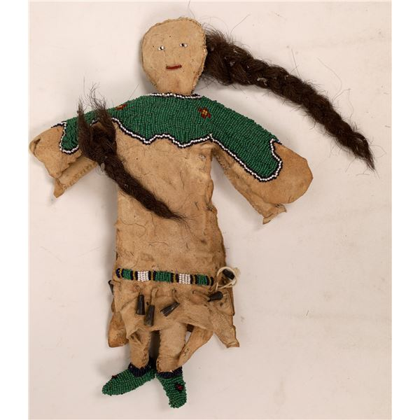 Native American Beaded Doll, Old  [141164]