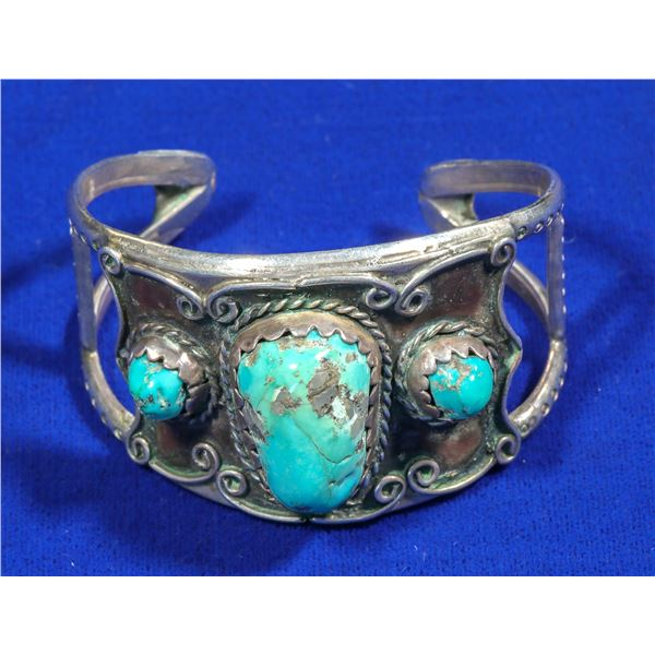 Woman's Turquoise Cuff  [140336]