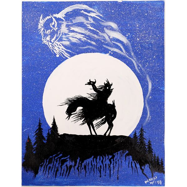 Bison Moon Original Art  [136200]