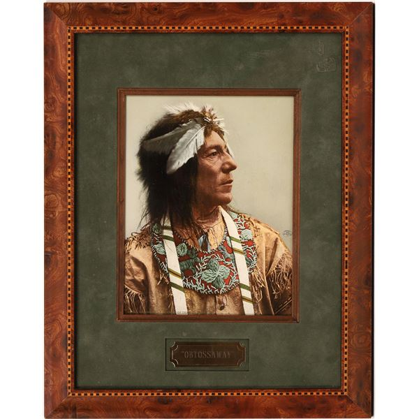 Photographic Print of Obtossaway an Ojibwas Chief  [139704]