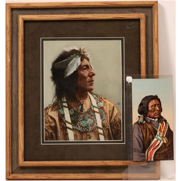 Photo Print of Obtossaway Chief of the Ojibwas and Yamapi  [139702]