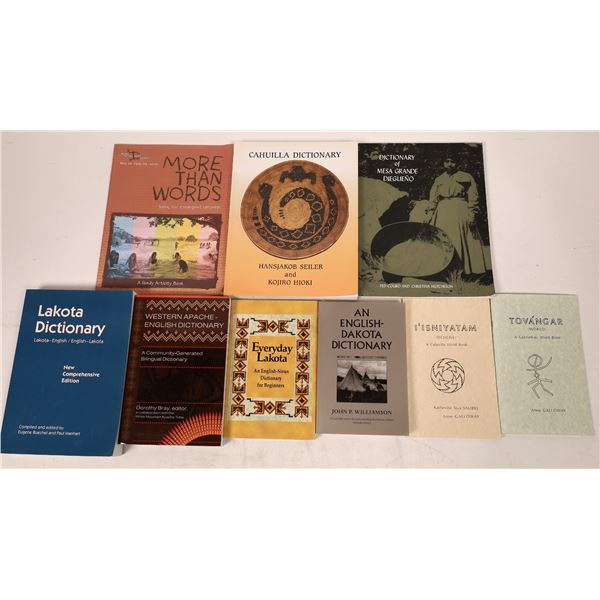 Native American Dictionary Collection (9 Publications)  [140692]