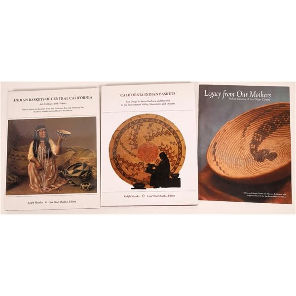 California Indian Baskets Reference Books (2)  [140737]