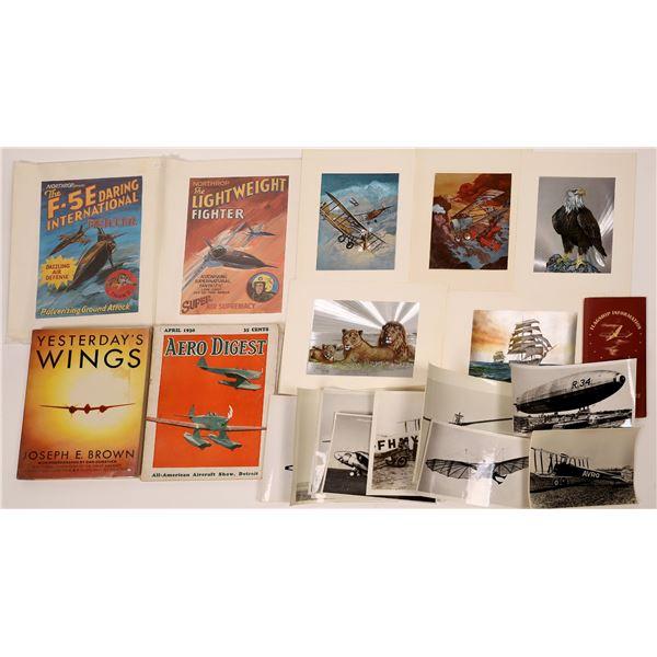 Airflight Ephemera - Miscellaneous Collection (22)  [139224]