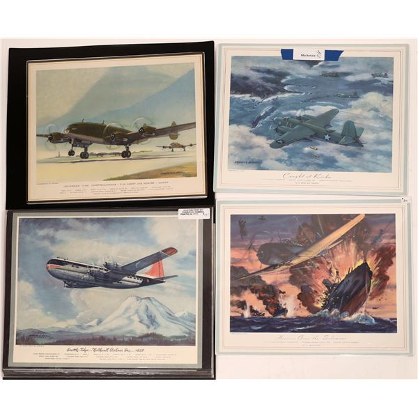 Aviation Prints by Artist Charles E. Hubbell  [139728]