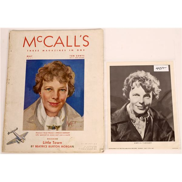 Amelia Earhart on the cover of McCall's Magazine  [140017]