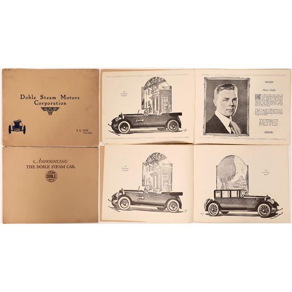 Doble Steam Motor Corporation Booklets (2)  [139884]