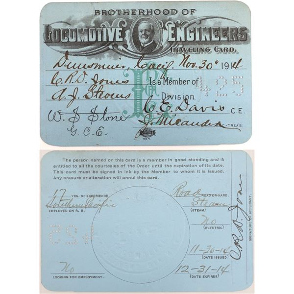 Two Interesting Auxiliary Railroad Passes  [130501]