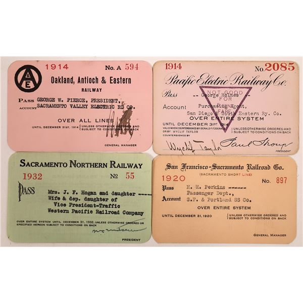 Railroad Passes, California Group - 4  [140216]