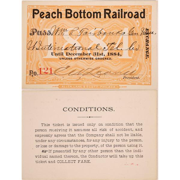 Railroad Pass, Peach Bottom Railroad (Pristine)  [140403]