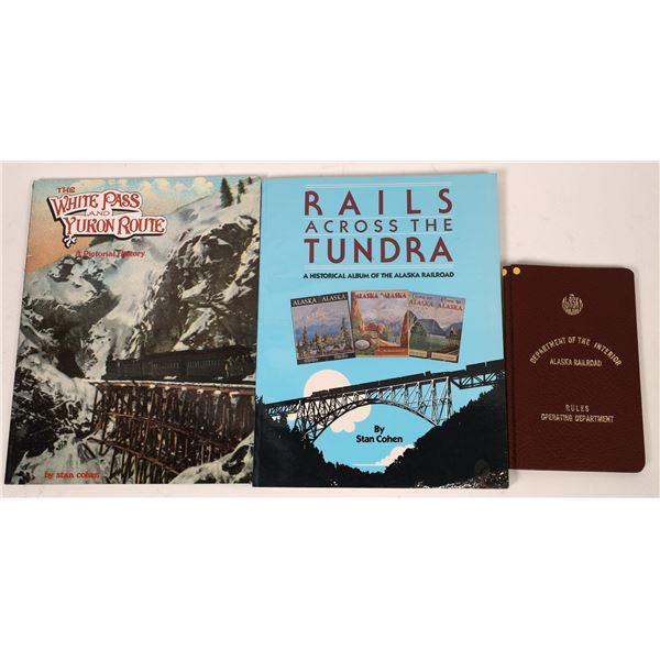 Alaska Railroad Book Trio (3)  [128131]