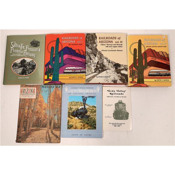 Railroads in Arizona Book Collection (7)  [128137]