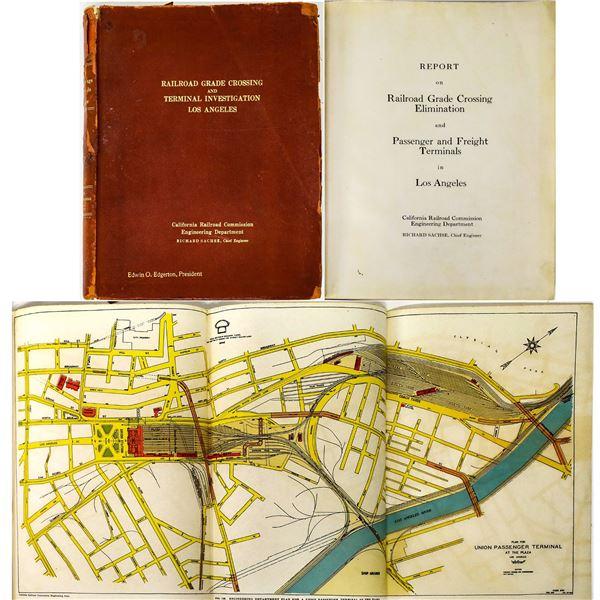 LA Railroad Crossing & Terminal Report-1920  [131652]