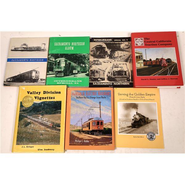 Central California Rail Book Collection (7)  [129773]