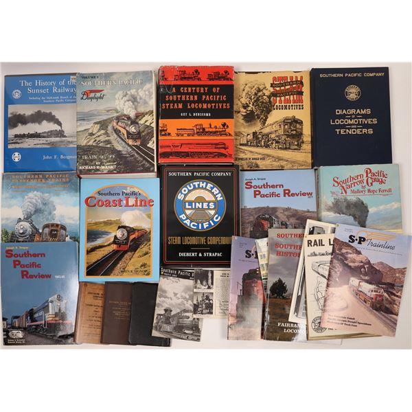 Southern Pacific Railroad Book & Map Bonanza  [128129]