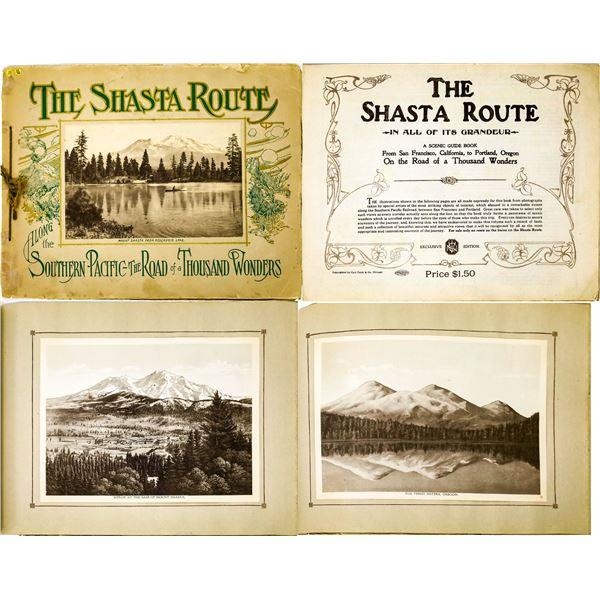 Southern Pacific Souvenir Picture Album: The Shasta Route [131653]