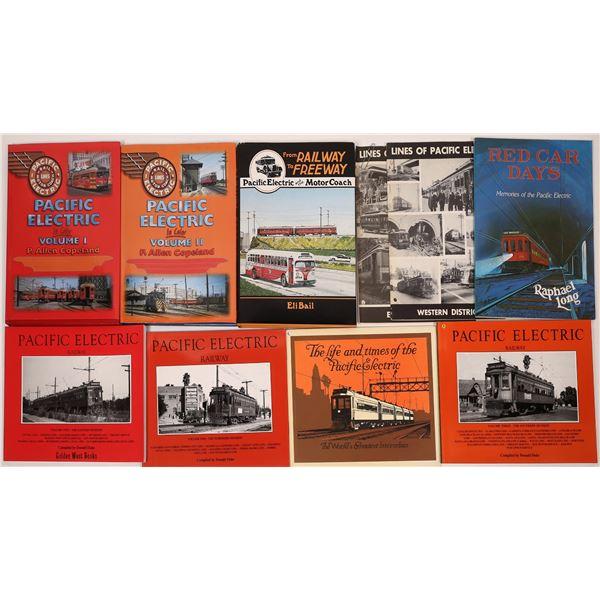 Pacific Electric Line Books (10)  [129765]