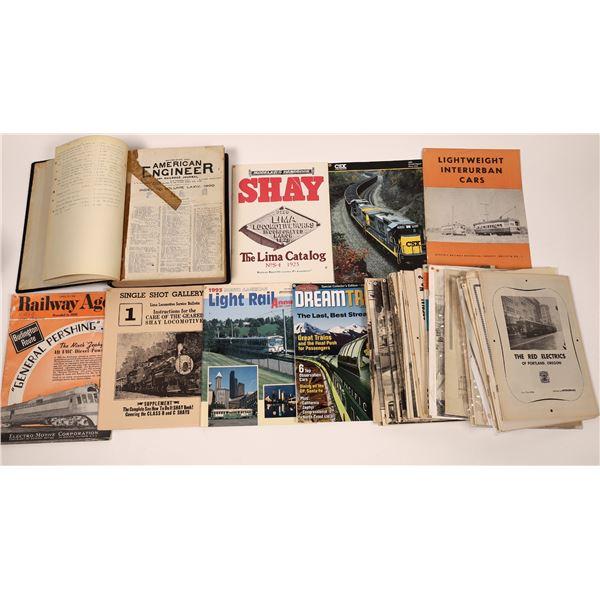 Train Magazines - Miscellaneous (47)  [139380]