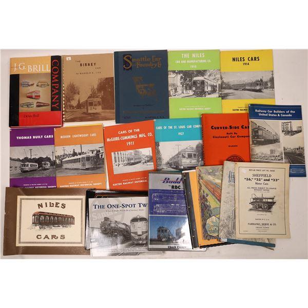 Various Railroad Manufacturer Catalogs (15)  [131658]