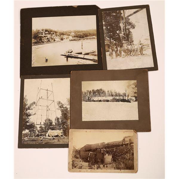 Vintage Railroad Photographs  [139317]