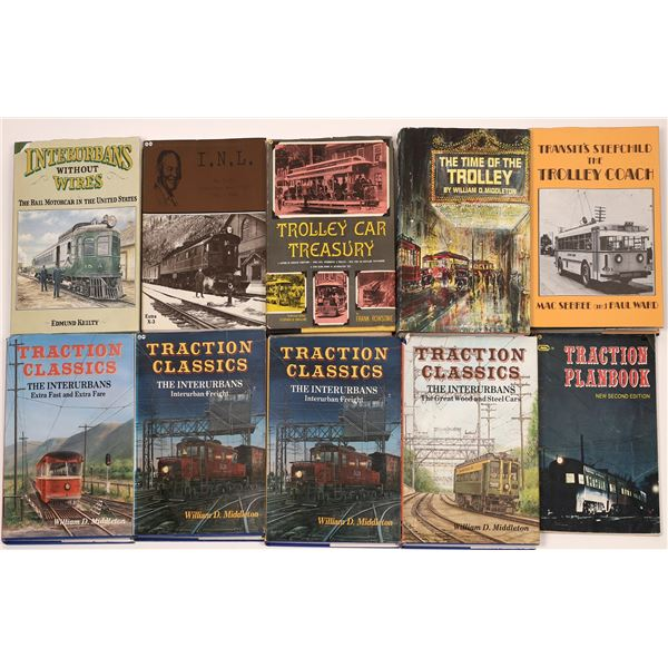 Trolley Book Collection (10)  [128143]