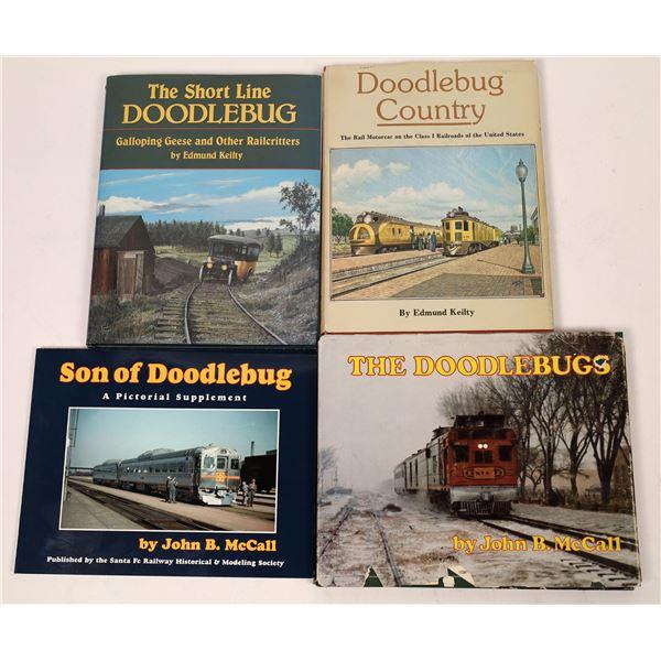 Doodlebug Railroad Books (4)  [128138]