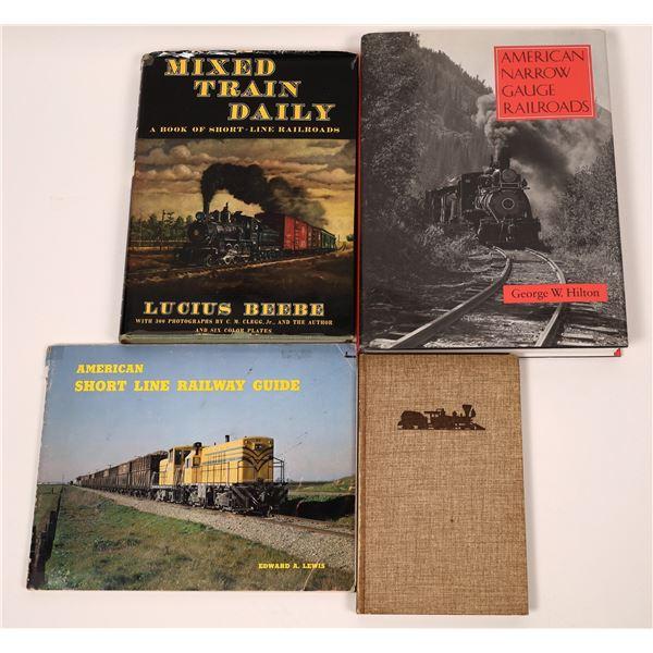 Short Line & Narrow Gauge RR Books (4)  [128141]