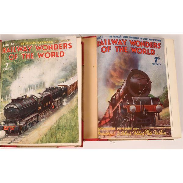 Railway Wonders of the World Volumes I & II  [128259]