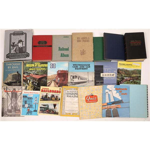 Railroad History Book Collection (20)  [129766]