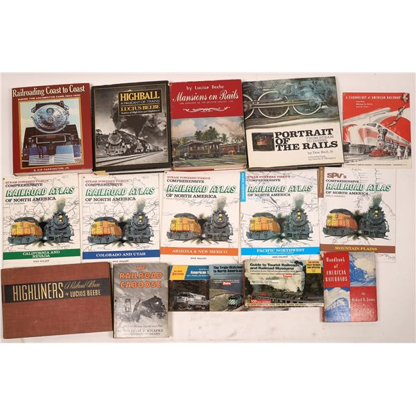 Railroad Books from Around the Country (15)  [128125]