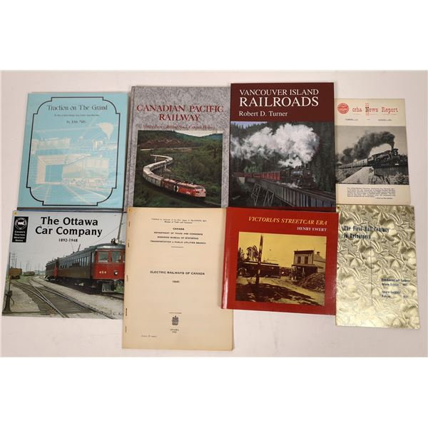 Canadian Railroad Book Collection (8)  [129770]