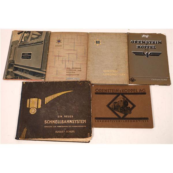 Book Group of German Locomotive Manufacturers (6)  [127629]