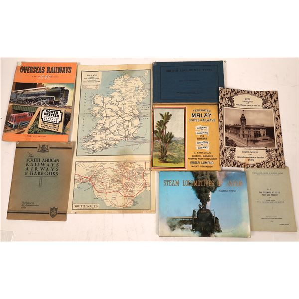 Foreign Railroad Reference Material (7)  [127628]