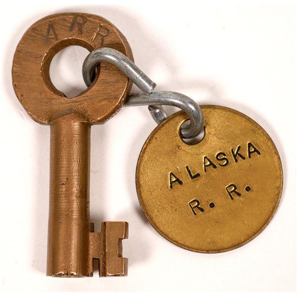 Railroad Lock Key (1) from Alaska RR Line  [138603]