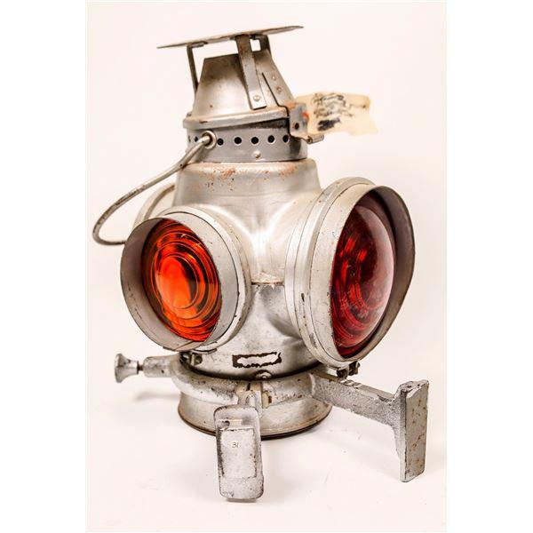 Rear Marker Lamp by Adams & Westlake - Santa Fe Style  [138319]