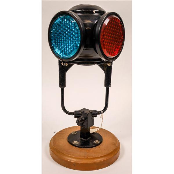 Railroad Reflex Switch Lamp by Adlake  [138334]