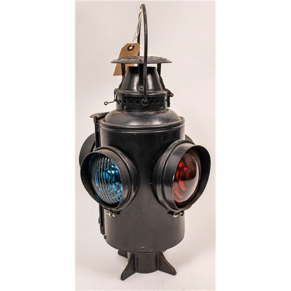 Railroad Signal Lamp #206 from UPRR by Adlake - with burner  [138303]