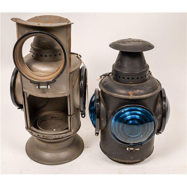 Adlake Railroad Signal Lamps - 2  [129406]