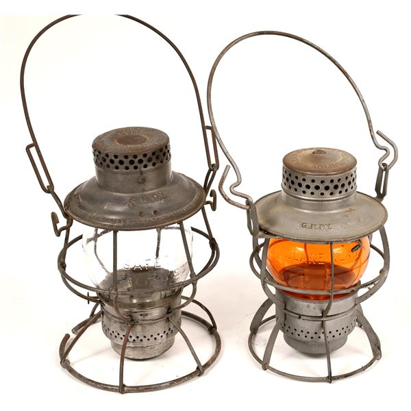 Adlake/Dressel Conductor's Lanterns, Great Northern RY - 2  [138583]