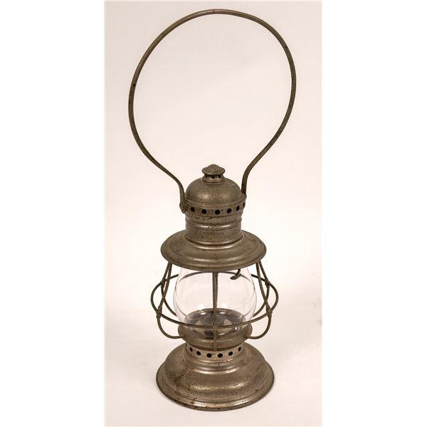 CT Ham Co. Railroad Conductor's Lantern, Model 3-1/2, Clear Globe  [138573]
