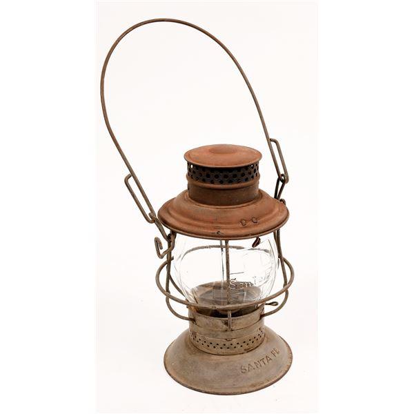 Railroad Conductor's Lantern, Santa Fe Railroad  [138577]
