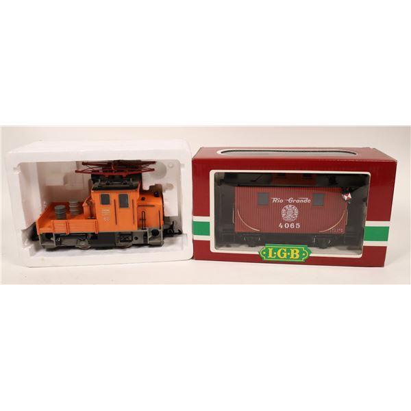 G Scale LGB. Service Electric Pantograph Locomotive  [138016]