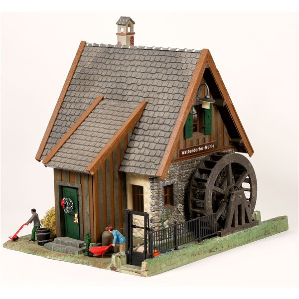 G Scale Pola Water Mill  [139812]