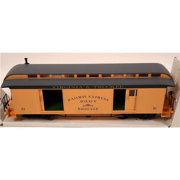 G Scale V&T baggage car  [138021]