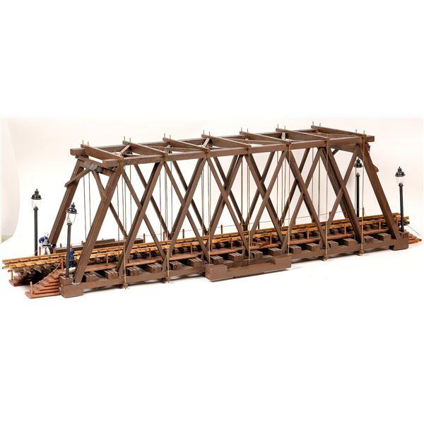G Scale Truckee River Truss Bridge   [139814]